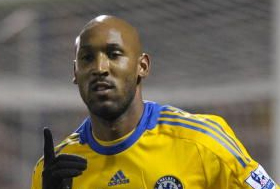 Anelka fakes it for the cameras