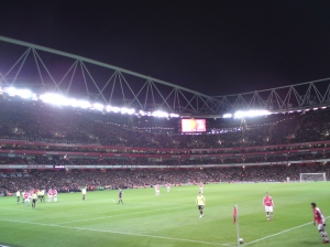 A surprisingly good view from Row 10 of the Lower Tier