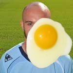 Egg on my face...