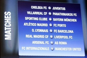 Champions League is like a box of chocolates, you never know which one you are gonna get