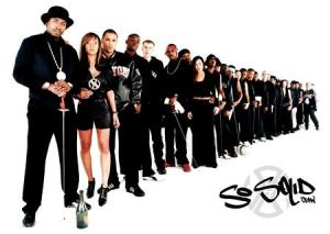 Man Utd's defence aka So Solid Crew.