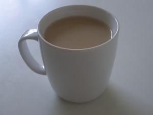 Half time cuppa