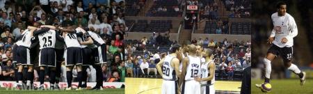 Spurs huddle, (San Antonio) Spurs huddle, Spurs' Huddle(stone)