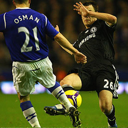Filthy tackle - take him out.