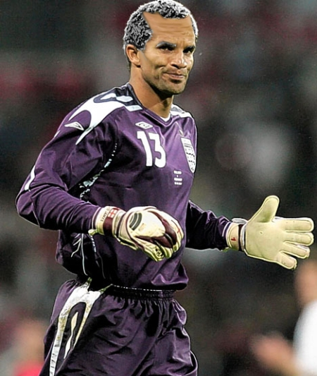 Whether England get it or not, David James will no doubt still be goalkeeper.