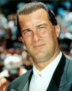 Steven Seagal is not impressed by this.