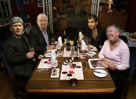It's Come Dine With Me as Wenger predicts a European Supper League...
