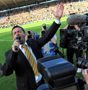 """""""All together now: 'There's only one Phil Brown, he's the best'"""""""