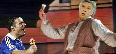 """""""Just one Cornetto, give it to me."""" Carlo and Frank realise they're going to have a good working relationship."""