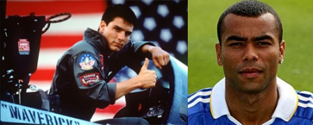 Maverick liked Cole's score but is disappointed he doesn't still play for Arsenal as then he really could have been Top Gun.