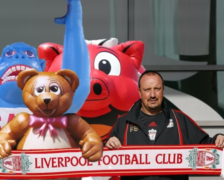 Liverpool beach ball