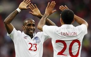 Jermain Defoe five goals Aaron Lennon