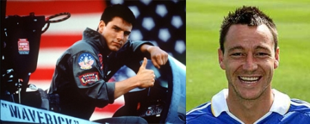 John Terry Tom Cruise Top Gun