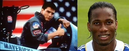 Didier Drogba Top Gun Chelsea Maverick