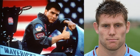 James Milner Top Gun Aston Villa