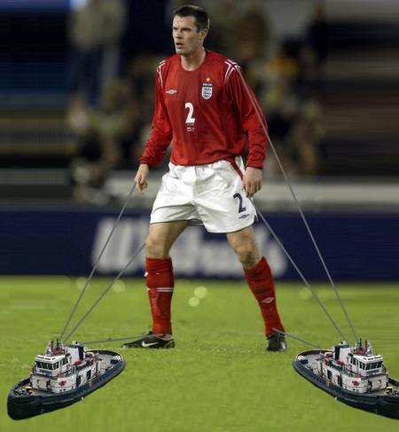 jamie carragher england liverpool tugboat